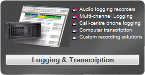 prism logging and transcription