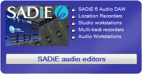 prism SADiE audio editors